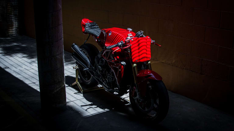 MV Agusta Celebrates Their Racing Heritage With This Custom Ride