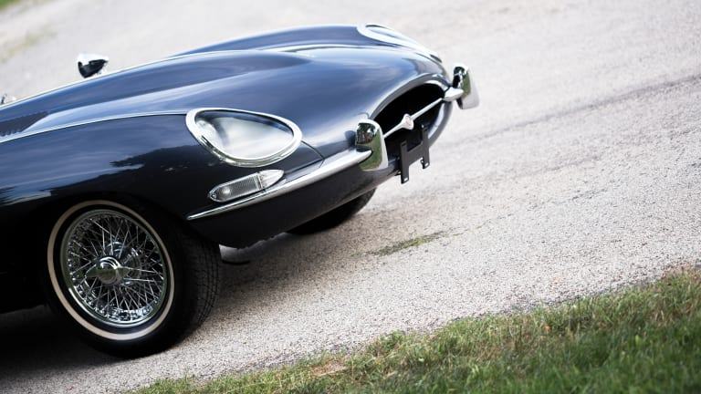 This 1964 Jaguar E-Type Is Tarzan in a Tuxedo