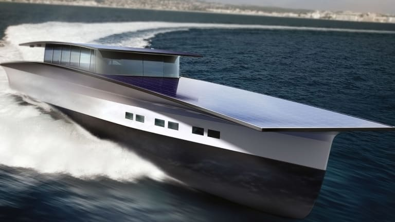 The $25 Million Solar-Yacht of the Future