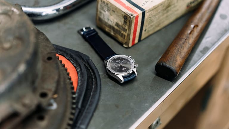 This Timepiece From Zenith and HODINKEE Is More Handsome Than Clooney