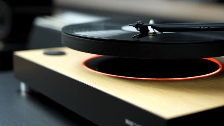 The Levitating Turntable Every Design Lover Needs