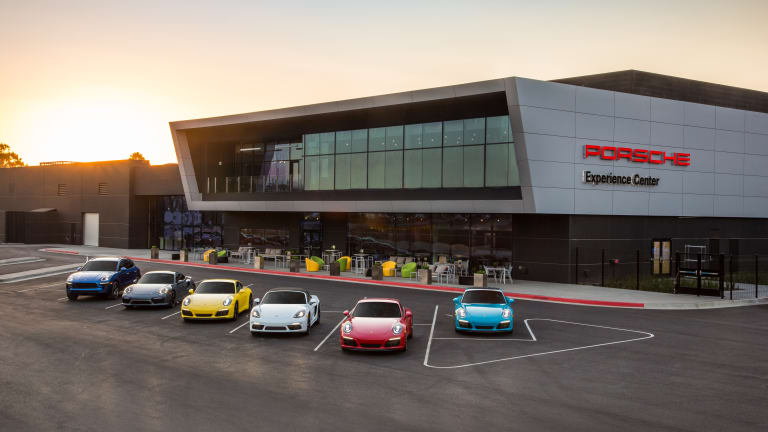 15 Photos Inside Los Angeles' Incredible New Porsche Playground