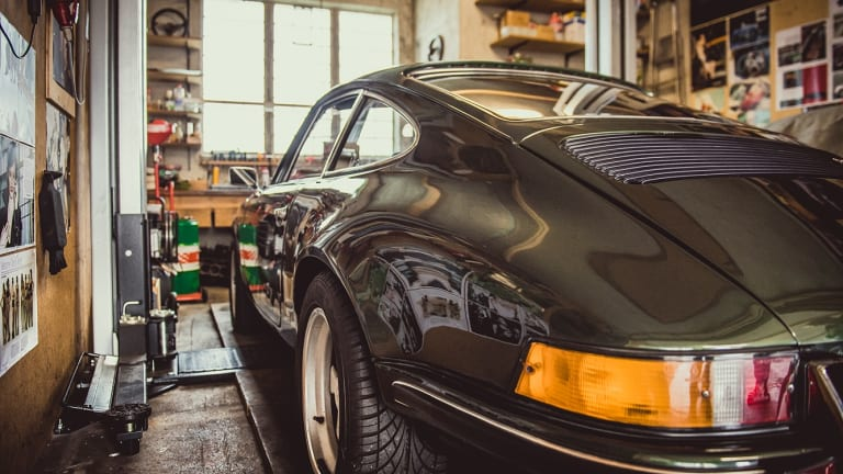Somebody Found a Coveted Porsche in a Long Lost German Man Cave