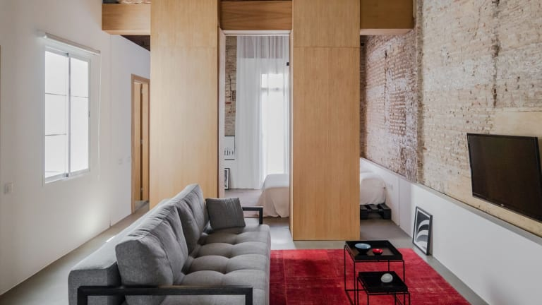 Architect Turns Abandoned Apartment Into Beautiful Living Space
