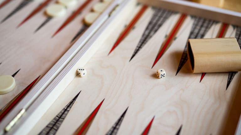 Take R&R to the Next Level With This Luxe Backgammon Set