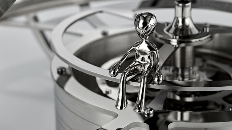 MB&F's Clock and Weather Station Set is Avant-Garde Watchmaking at Its Best