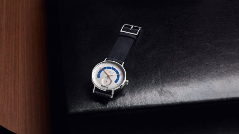 Nomos Steps on the Gas With Racing-Style Autobahn Watch