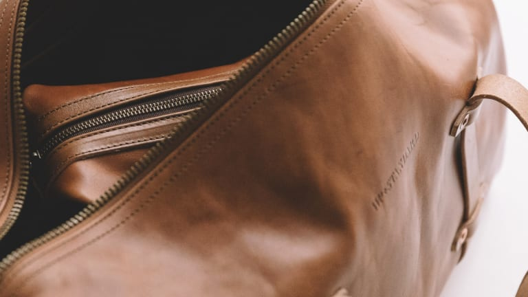 This Handsome Leather Weekender Will Only Get Better With Age