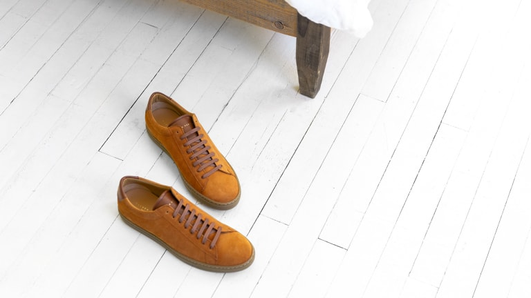 These Split Suede Stunners Are Our New Favorite Kicks