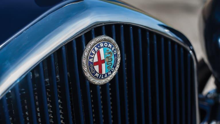 Car Porn: 1933 Alfa Romeo 6C 1900 Gran Turismo Spider