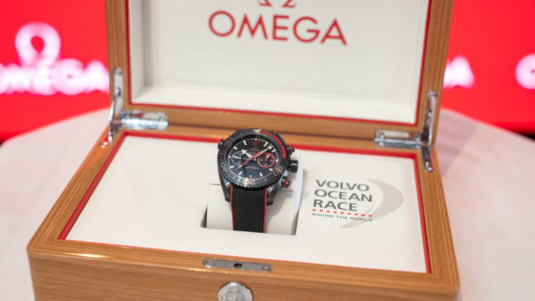 Omega Launches Ltd. Edition Volvo Ocean Race Watch