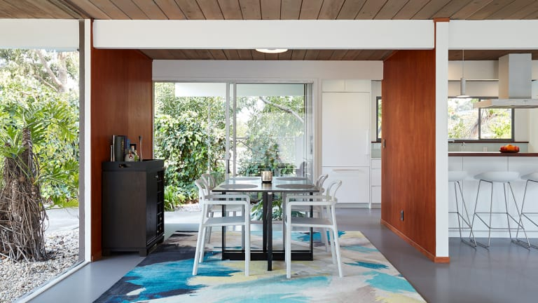 Tour a Mid-Century Modern Oasis in Silicon Valley
