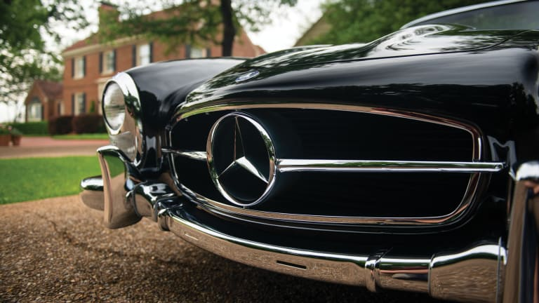 Car Porn: 1963 Mercedes-Benz 300 SL Roadster