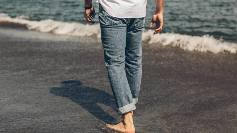 Taylor Stitch's New 24 Month Wash Jeans Are Rare Denim Indeed