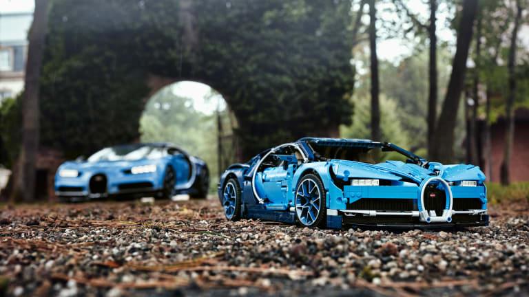 LEGO's Exceedingly Faithful Bugatti Chiron Replica Has Arrived