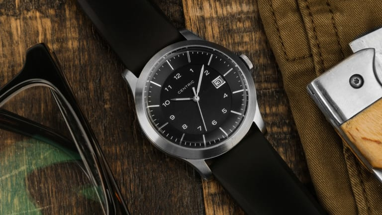Centric's Solar-Powered Field Watch Gets the 30% Off Treatment