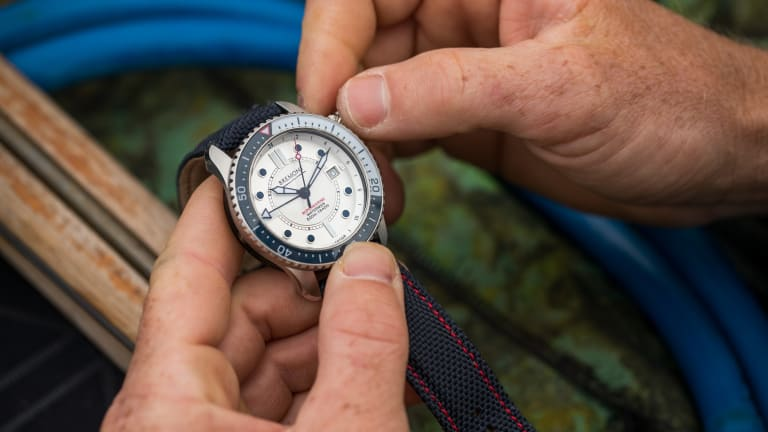 British Watch Brand Bremont Goes Deep With Ltd. Edition Dive Watch