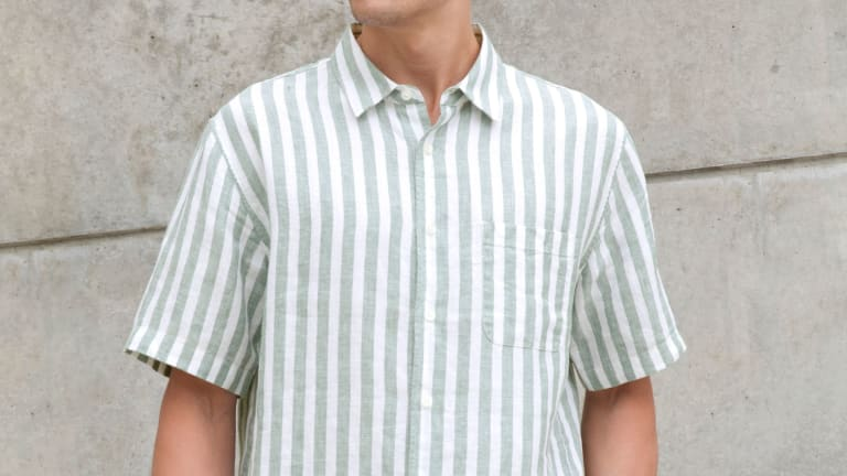 Embrace 'Talented Mr. Ripley' Style With This Striped Linen Shirt