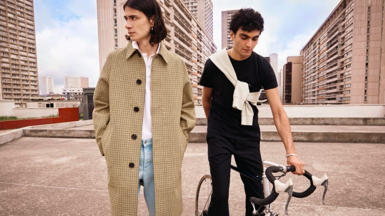 Effortlessly Cool Casualwear Fills MR PORTER's 'Vive La France' Capsule