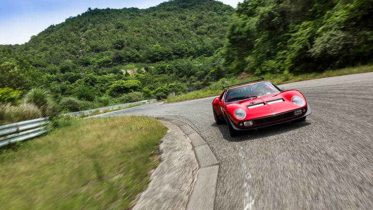 Lamborghini Resurrects the One-of-One Miura SVR