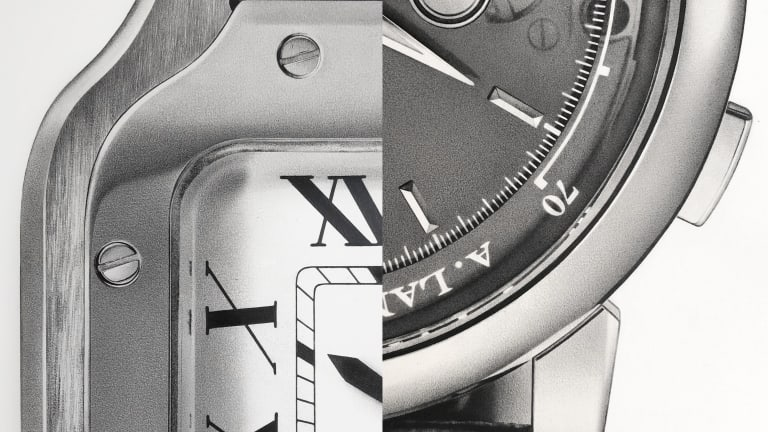 These Sketches of Fine Timepieces are Impossibly Gorgeous
