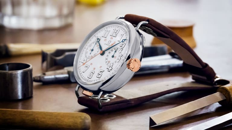 Omega Reissues Its First Ever Wrist-Chronograph Feat. Orignal 1913 Movement