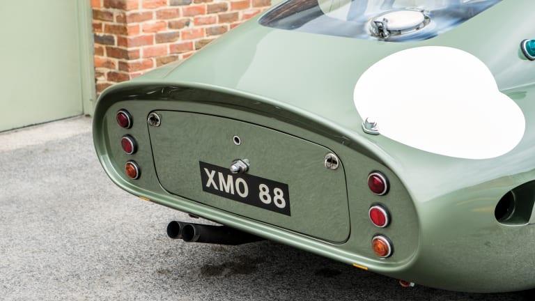 Car Porn: Ex-Le Mans 1963 Aston Martin DP215