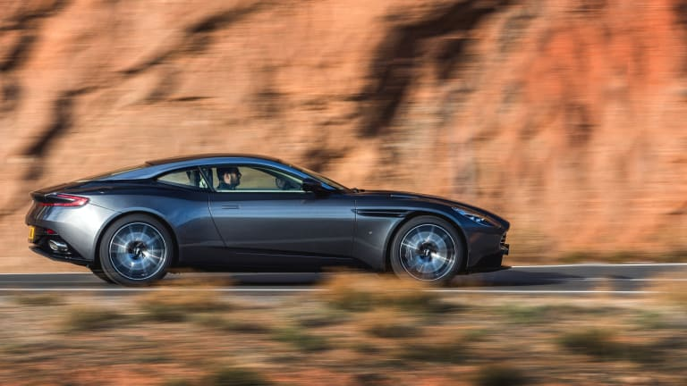 This Aston Martin DB11 Footage Has Style for Miles