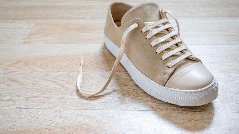 These Suede Sneakers Will Take Your Summer Wardrobe Into Fall