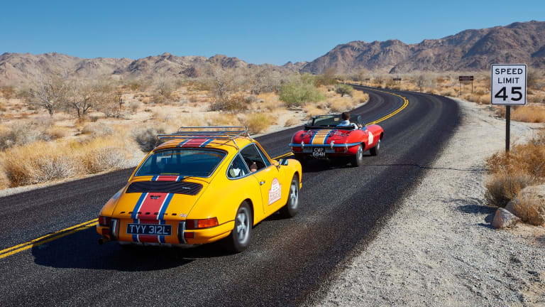 Join the Bremont Boys On Their Cool Classic 911 and E-Type Roadtrip
