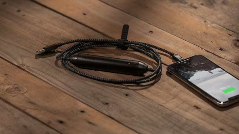 Minimize Your Travel Kit With This Beautifully Designed Battery/Lightning Cable Hybrid
