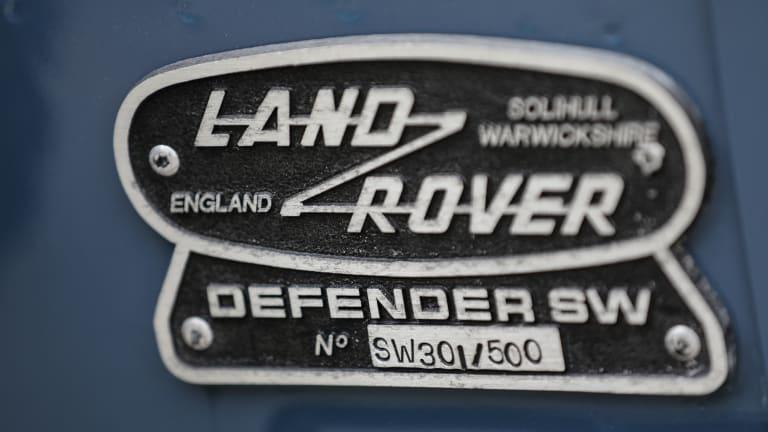 Car Porn: 1995 Land Rover Defender 90