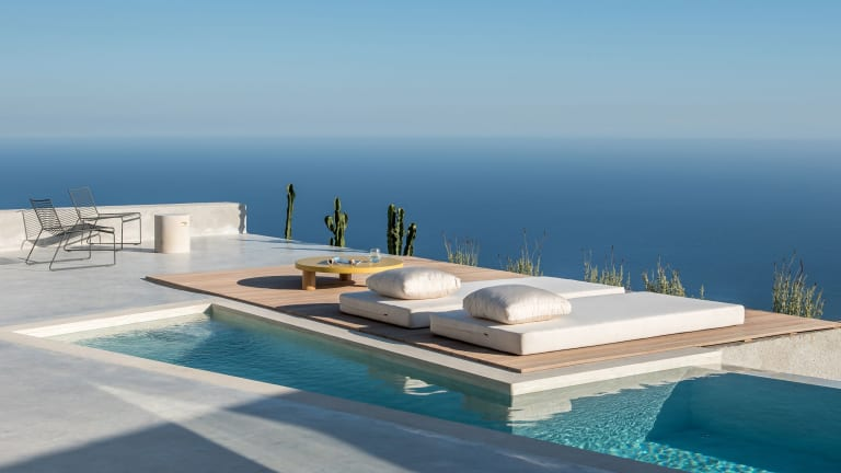 This Santorini Getaway Home Has It All
