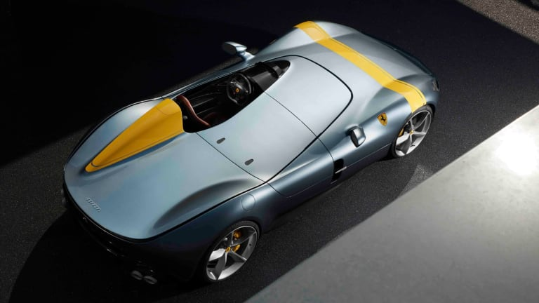 Ferrari's One-Seat Monza SP1 Is a Breathtaking Retro Throwback