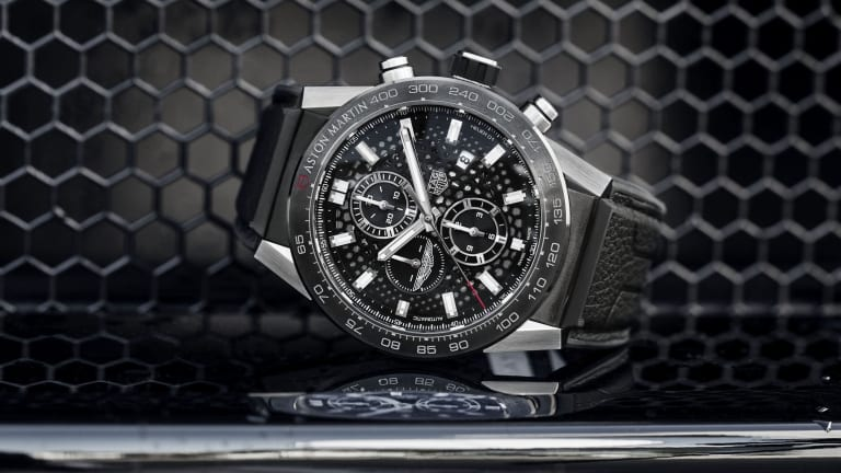 Tag Heuer's Latest Collab Is Made for Aston Martin Drivers