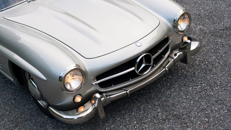 Car Porn: 1955 Mercedes-Benz 300 SL Gullwing