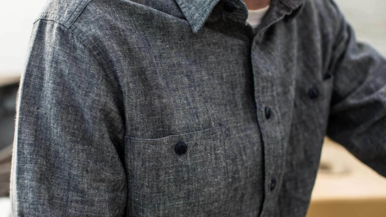 Taylor Stitch's Hemp Chambray Shirts Will Get You High, Sartorially Speaking