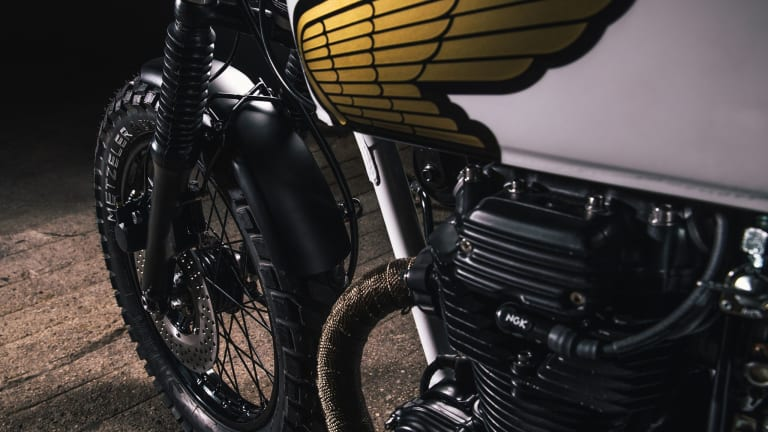 This Custom 1976 Honda CB360T Is a Work of Art