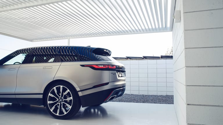 Feast Your Eyes on the New Range Rover Velar in Palm Springs