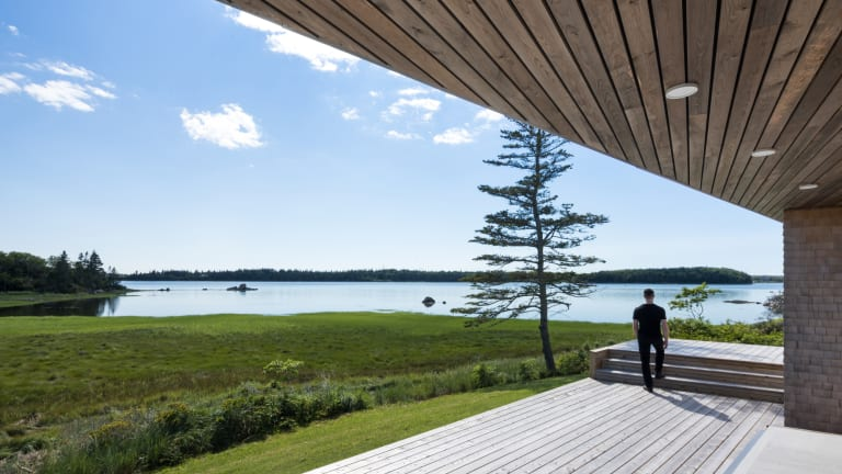 This Modern Nova Scotia Home Hits All the Right Notes