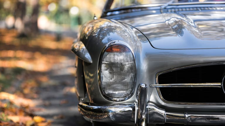 Car Porn: 1958 Mercedes-Benz 300 SL Roadster