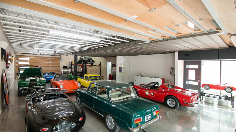 A Car Collector's Dream Home