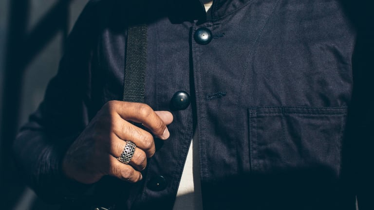 This Japanese Cotton Chore Jacket Is World-Class Workwear