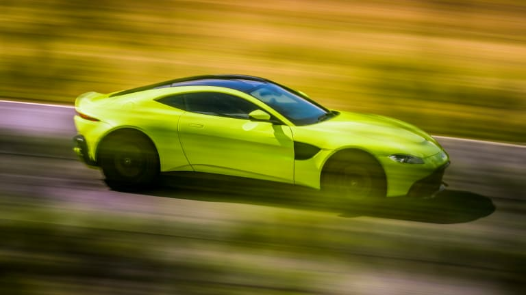 The New Aston Martin Vantage Is Achingly Beautiful