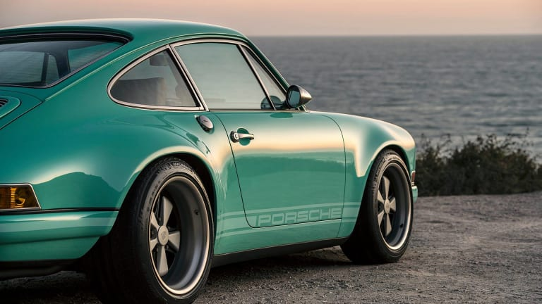This Mouthwatering Custom Porsche Stuns in Seafoam Green