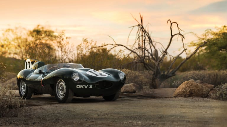 Treat Your Eyes to This $15mm Vintage Jaguar