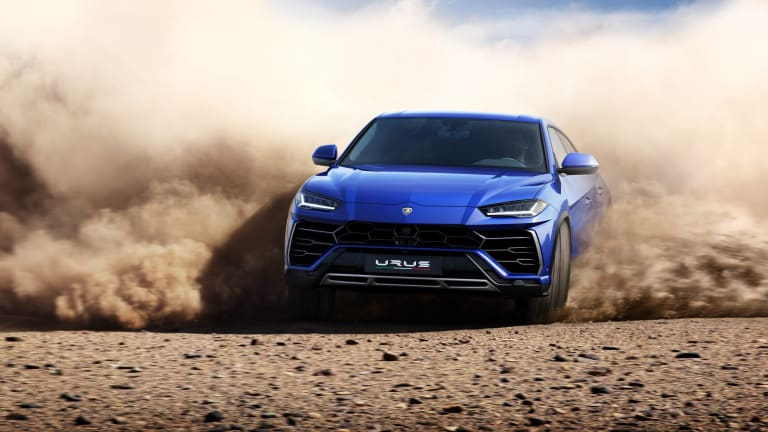 Lamborghini Unveils the World's First 'Super SUV'