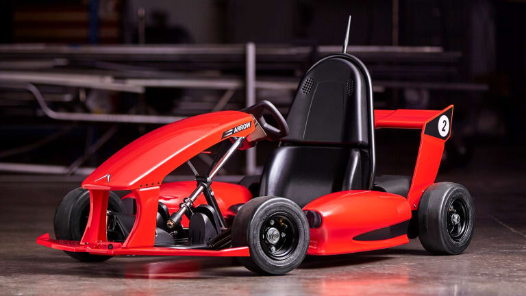 The Arrow Smart Go-Kart Is the Coolest Kidsmobile Imaginable