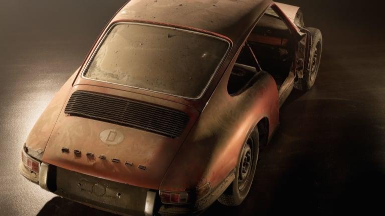 Before & After: A Barn Find 1964 Porsche 901 Gets Restored