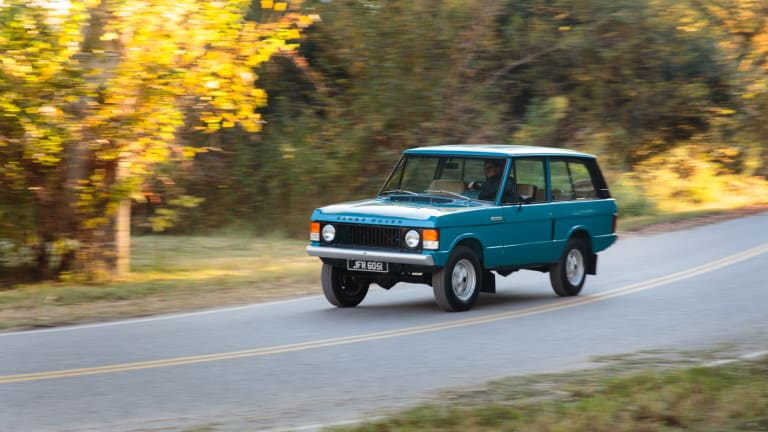 This Classic Range Rover Is Two-Door Perfection